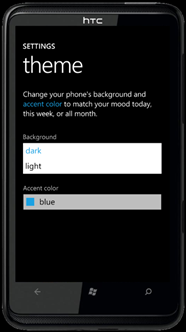 Creating a WP7 app: Supporting dark and light themes (1/6)